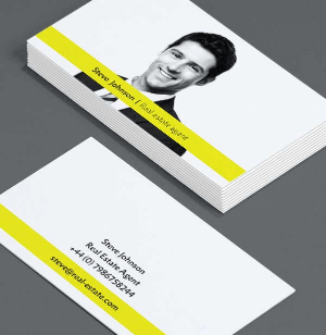 Make Real Estate Business Cards That Matter - Move Up Real Estate