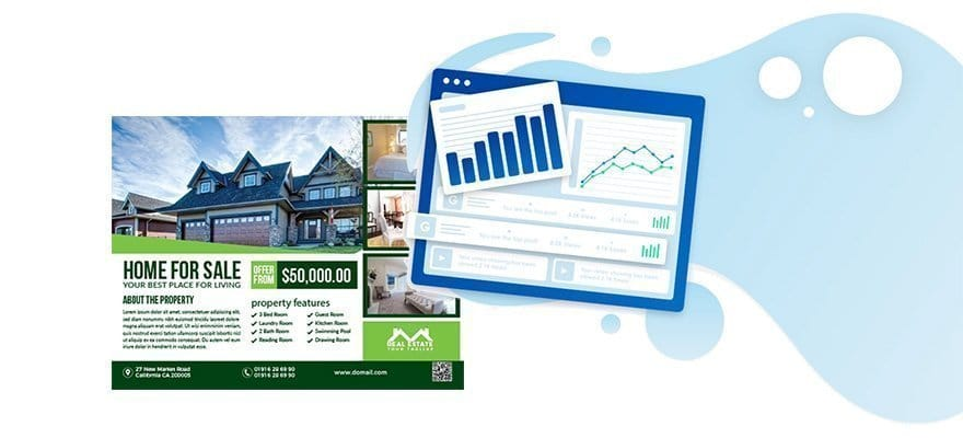 real estate mailers alternative
